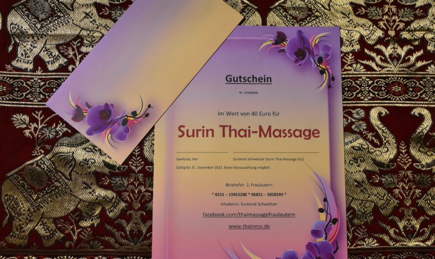 Surin Thai Massage derzeit geschlossen.